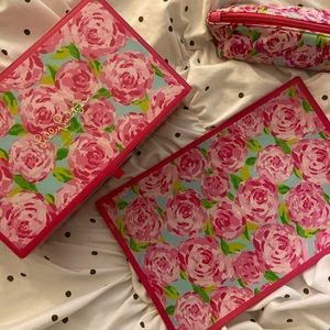 set of 3 Lilly Pulitzer First Impressions Items
